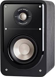 home theater surround speakers signature s10 compact satellite surround speakers pair polk home