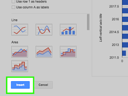 How To Complete A Spreadsheet How To Create A Graph Using A Spreadsheet With Pictures