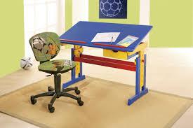 Schreibtisch H Enverstellbar Kinderschreibtisch Neigungs 6fach Höhenverstellbar Holz Lackiert