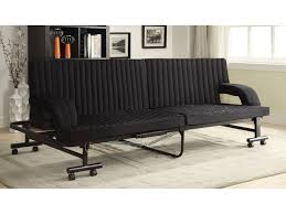 futon metal sofa bed coaster futons black sofa bed with metal frame miskelly furniture