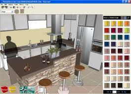Architecture The Lavish Blue Frame With A Simple Mini Bar Three - Home interior design program