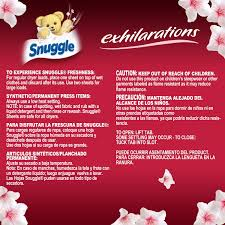 Best Sheet Brands On Amazon by Amazon Com Snuggle Exhilarations Fabric Softener Dryer Sheets