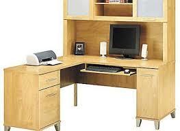 Walmart Desk Computer 60 Inch Desk New Bush Somerset Computer With Optional Hutch