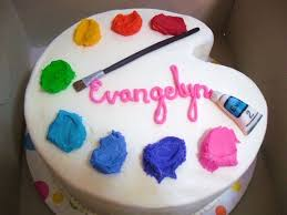 paint birthday cake google search art birthday party pinterest