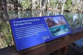 Crystal River Florida Map Crystal River Preserve State Park Manatees Popular River 2017