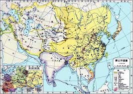 Mongolia Map China History Maps 1271 1368 Yuan Mongol