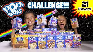 Poptarts Meme - pop tart challenge 21 flavor taste test youtube