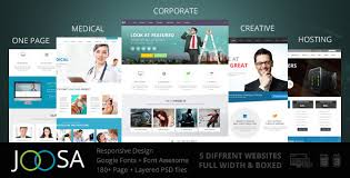 download layout html5 css3 joosa responsive multipurpose html5 template by gsrthemes9