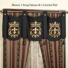 Curtains Valances And Swags Swag Valances Touch Of Class