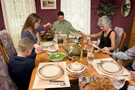 thanksgiving table prayers seasons families at the center