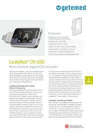 cardiomem cm 3000 l3 getemed medizin und informationstechnik