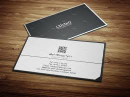 clean qr code business card 2 business card templates