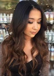 ambry on black hair 60 chocolate brown hair color ideas for brunettes brown balayage