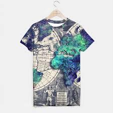 World Map T Shirt by World Maps Art U2013 Jbjart