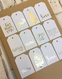 Wedding Wish Tags Wedding Wishing Tree Tags Gold Silver Or Rose Gold Foil Gift