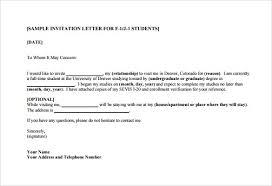 Wedding Invitation Letter For Us Visitor Visa wedding invitation letter for us visitor visa awesome 13 sle