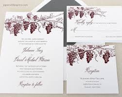 winery wedding invitations vineyard wedding invitations winery wedding invitation