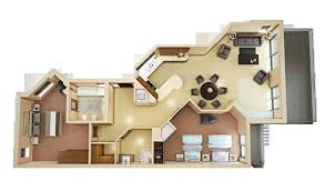 model house decoration cgtrader com 3d floor plan 4 model loversiq