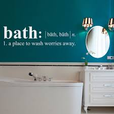 bath definition wall decal dictionary definition decal