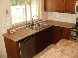 l shaped kitchen ideas cabinets white double doors refrigerator
