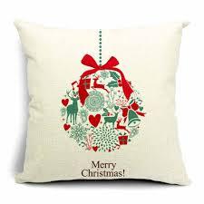 Christmas Decorative Pillows Amazon by Amazon Com Dreamcolor 18x18