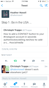 updated how to add the contact button to your instagram account