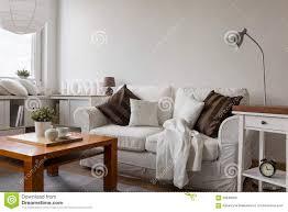 Cozy Livingroom Small Cozy Living Room Stock Photo Image 56948305