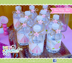 Decorate Water Bottle Teepee Party Water Bottle Labels Wraps Wrappers Sleeves Pink