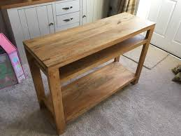 Gumtree Console Table Solid Wood Console Table Light Mango In Costessey Norfolk Gumtree