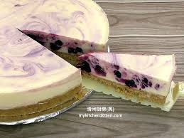 Lemon Cheesecake Decoration No Bake Blueberry Lemon Cheesecake Mykitchen101en Com