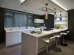 cuisine avec bar table 73 idées de cuisine moderne avec îlot bar ou table à manger