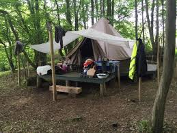 tents are comfortable and spacious picture of eco camp uk