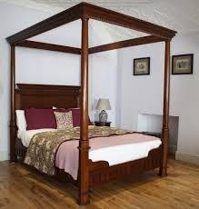 georgian 4 poster king size bed ex display