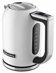 White Kettles And Toasters Kitchenaid Stainless Steel Electric Variable Temp Water Kettle