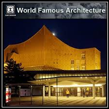 94 Best Architecture Hans Scharoun Images On Pinterest Hans - hans scharoun s berliner philharmonie cad design free cad blocks