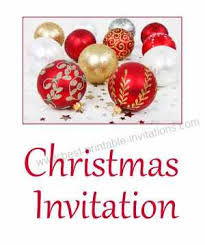 free christmas party invites pacq