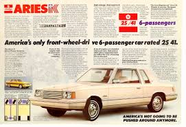 the success of the dodge aries