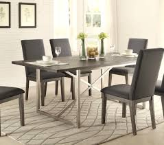 stainless steel dining room tables fanciful stainless steel dining table set home design view stainless