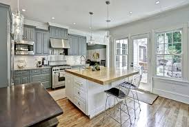 white kitchen wood island 30 gray and white kitchen ideas designing idea