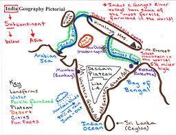 India Geography Map by Grade 8 U2013 Geography Of India Mr Cozart