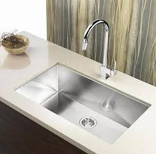 Inch Zero Radius Stainless Steel Undermount Single Bowl Kitchen - Single undermount kitchen sinks