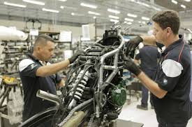 bmw factory bmw motorrad new bmw group plant in brazil starts motorcycle