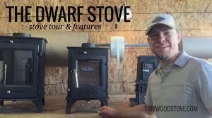 dwarf 4kw small wood stove tour youtube