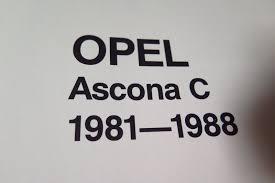 reparationshandbok opel opel ascona