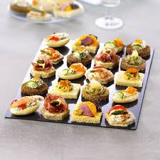 cuisine canapé canapes vol au vents frozen starters frozen food
