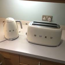 Kettle Toaster Smeg Cream Coloured Kettle And Toaster In Blandford Forum