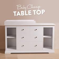 White Baby Change Table White Chest Of Drawers And Baby Change Table Top Buy Changing Tables