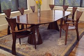 Custom Wood Dining Room Tables by Tinsman Dining Table Round Dining Table Seth Rolland