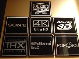 home theater decor neon home theater signs amp vintage movie signs