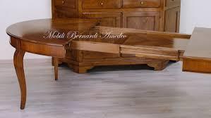 tavolo ovale legno tavolo rotondo allungabile 4 tavoli